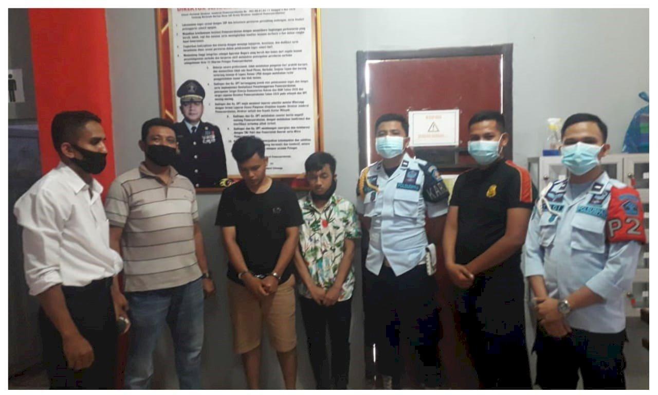 Petugas Lapas Dharmasraya Gagalkan Penyelundupan Sabu
