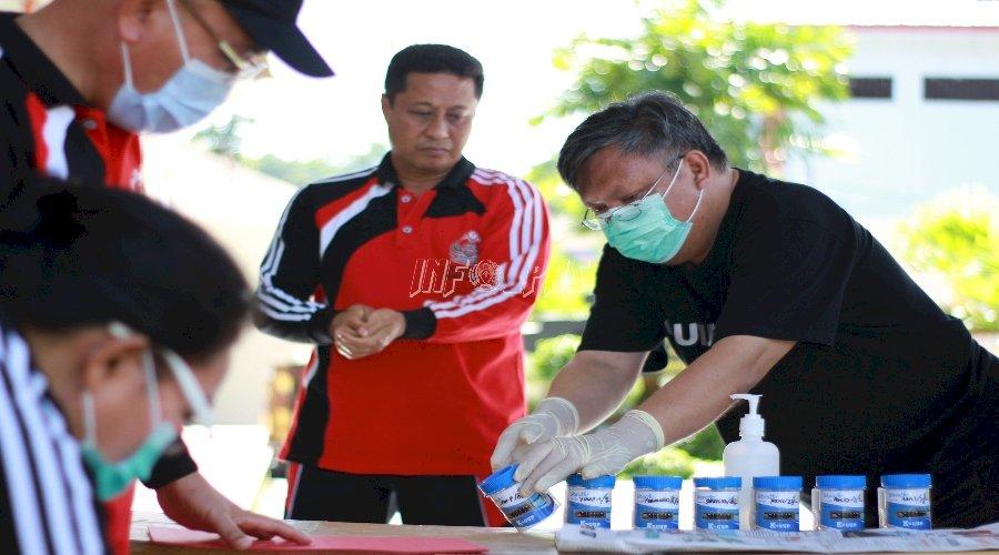 Rutan Manado Gelar Tes Urin bagi Pejabat Struktural dan Petugas
