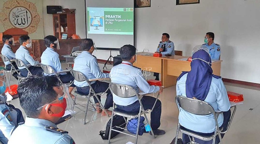 Petugas LPKA Jakarta Ikuti Pelatihan Instrumen Penilaian Pengasuhan Anak