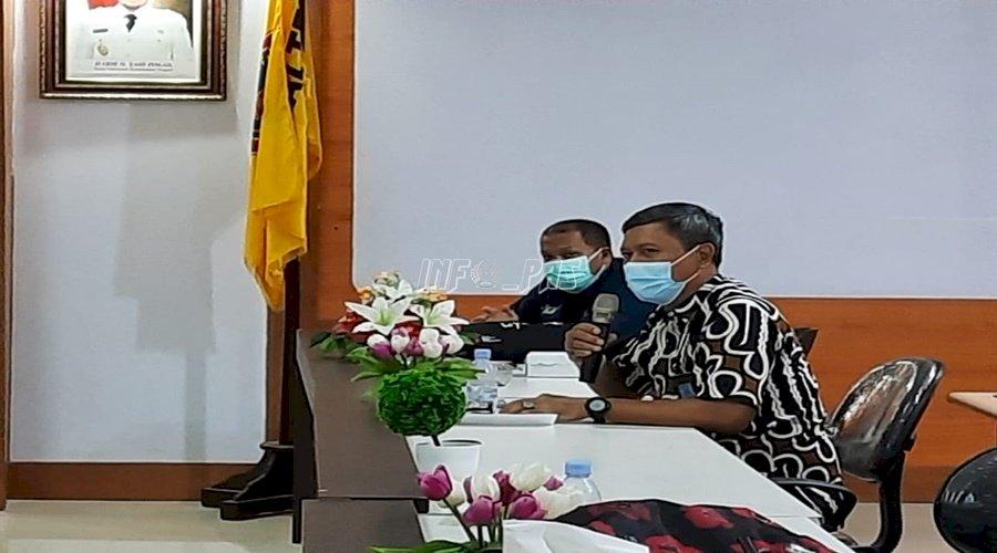Kalapas Palangka Raya Ikuti Evaluasi Program HIV/AIDS dan PIMS Provinsi Kalteng