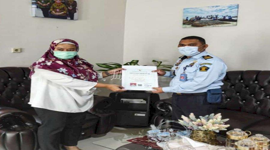 PPK Lapas Tanjungpandan Raih Sertifikat Kompetensi