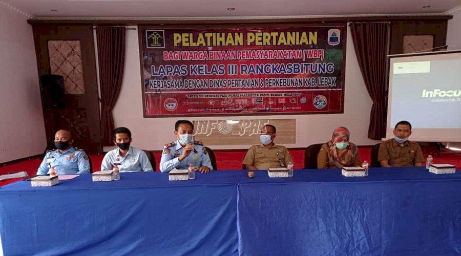 Jadi Sentra Pertanian, WBP Lapas Rangkasbitung Dibekali Pelatihan