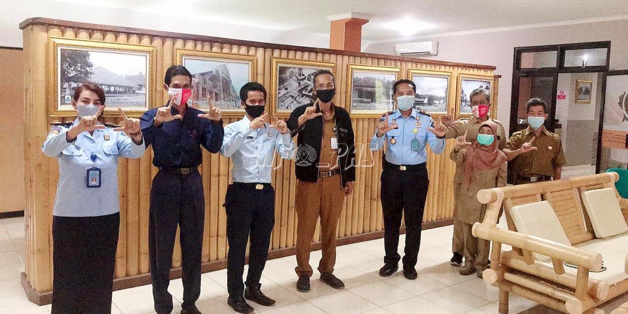 Ciptakan Destinasi Wisata Hukum, Lapas Rangkasbitung Gandeng Dinas Perpustakaan Lebak