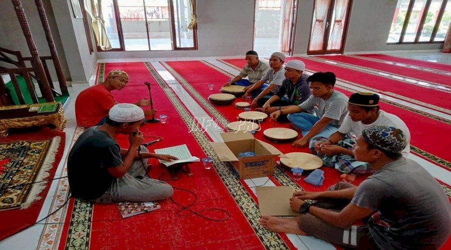 WBP Rutan Kuala Kapuas Isi Keseharian dengan Latihan Habsyi & Yasinan
