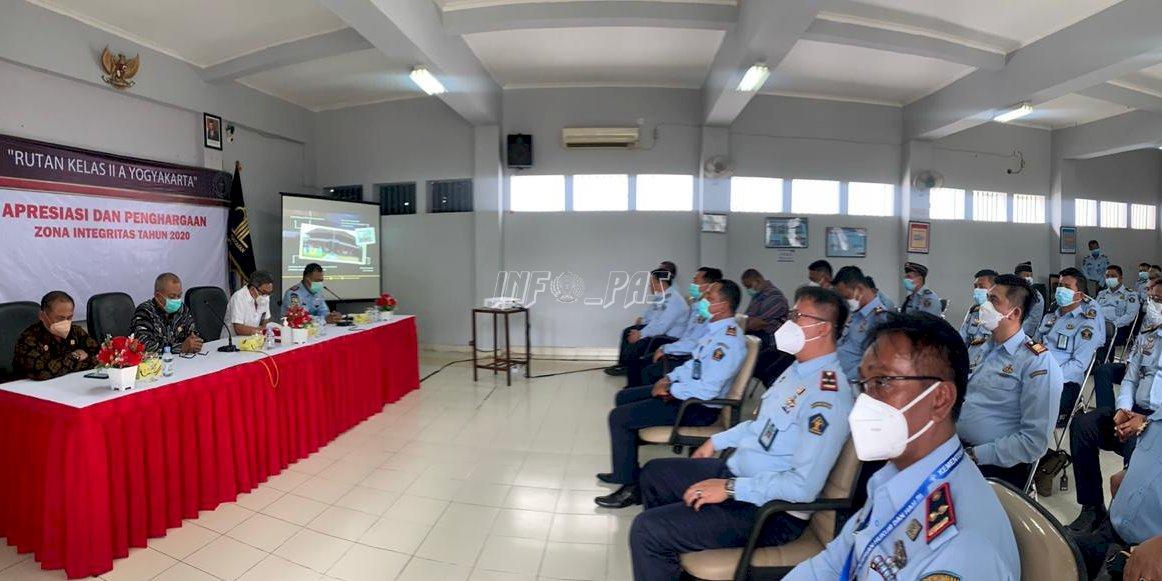 WBK di Tahun 2020, Rutan Yogyakarta Jadi Destinasi Studi Tiru