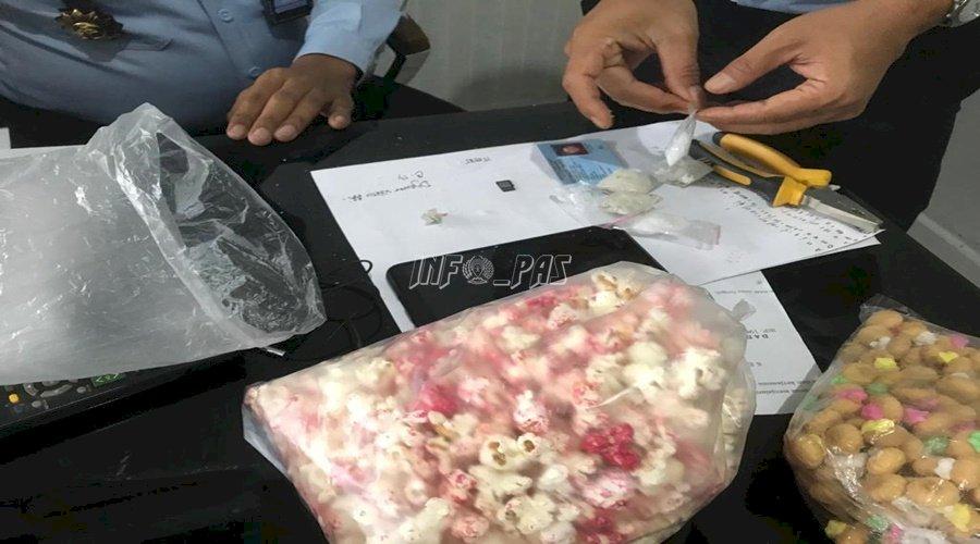 Petugas Lapas Semarang Gagalkan Penyelundupan Sabu dalam Popcorn