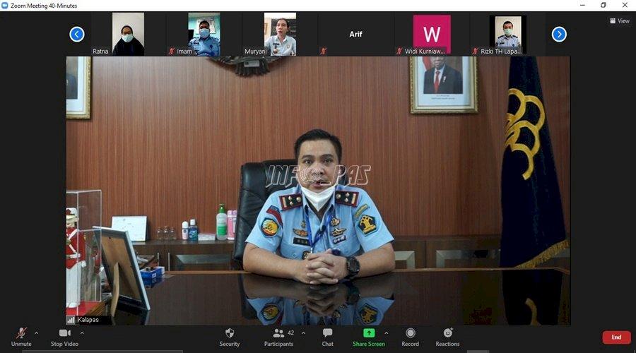 Kalapas Narkotika Jakarta Kembali Tekankan Protokol Kesehatan