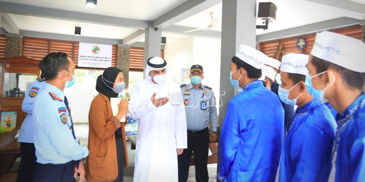 Kunjungi LPKA Jakarta, Wakil Duta Besar UAE untuk Indonesia Terkesima