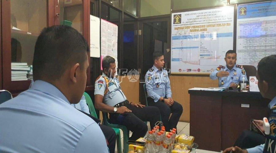 Sidang TPP di Rutan Banda Aceh, Ini Pembahasannya