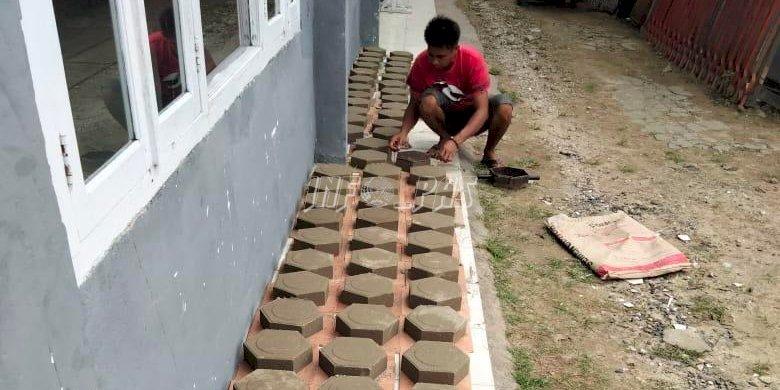 Paving Blok WBP Rutan Kuala Kapuas Siap Bersaing di Pasar