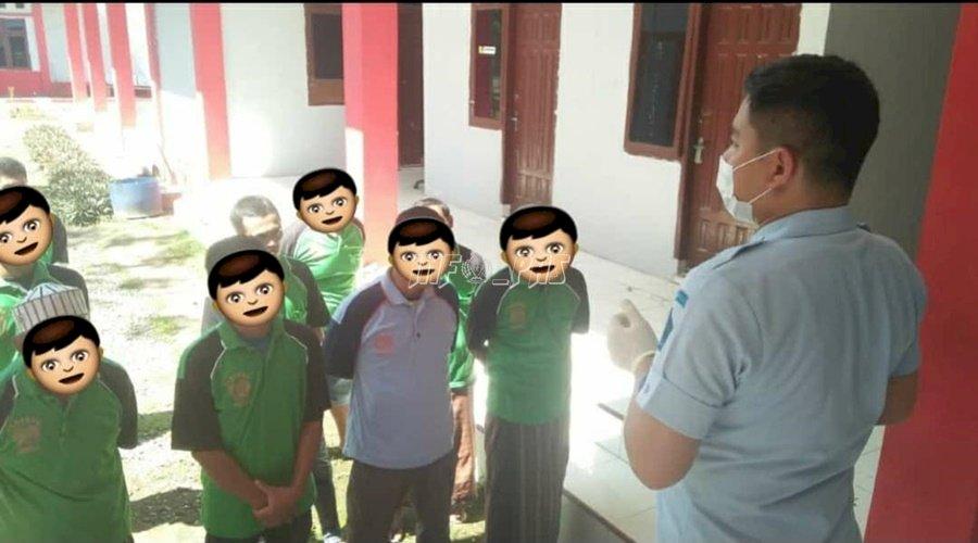 Syarat Asimilasi, WBP Rutan Banda Aceh Dites Urin