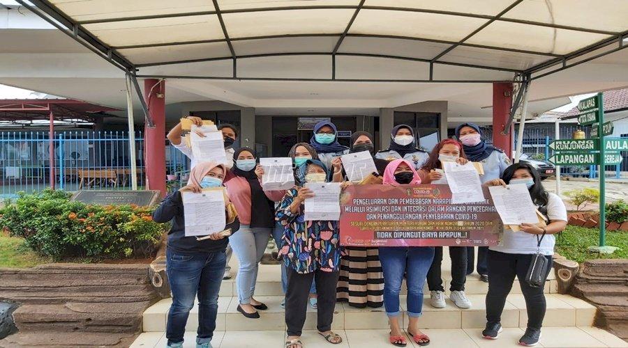 9 WBP LPP Tangerang Laksanakan Asimilasi di Rumah