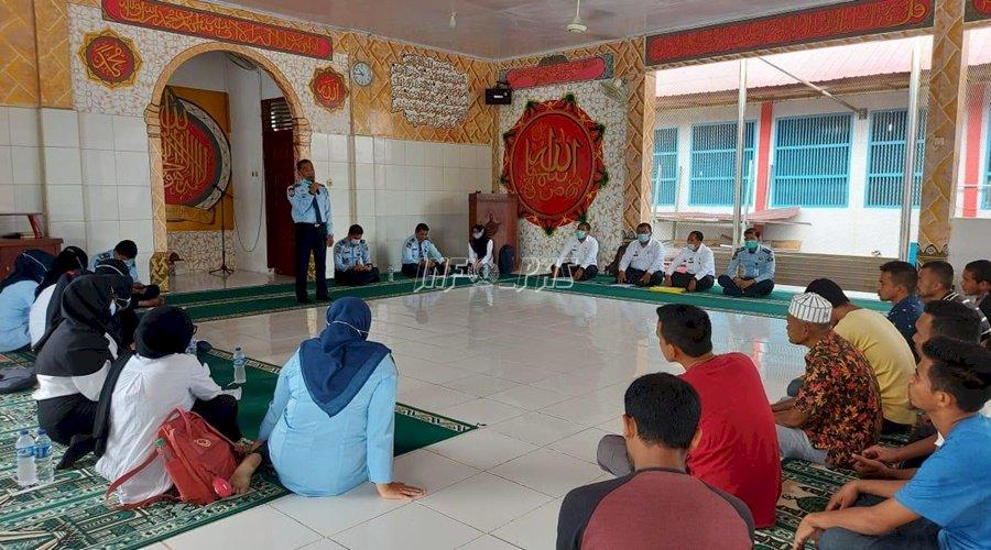 29 WBP Rutan Banda Aceh Ikuti Litmas & Penyuluhan Asimilasi
