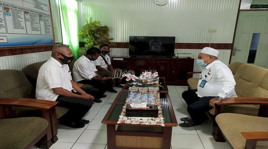 Plt. Karutan Ambon – Dir. Tahti Polda Maluku Bahas Pemindahan Tahanan