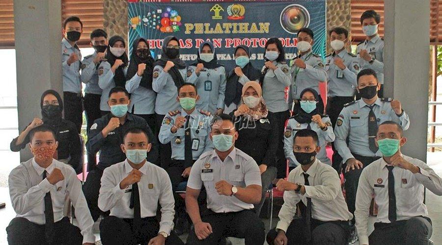 Petugas LPKA Jakarta Dilatih Kehumasan dan Protokoler