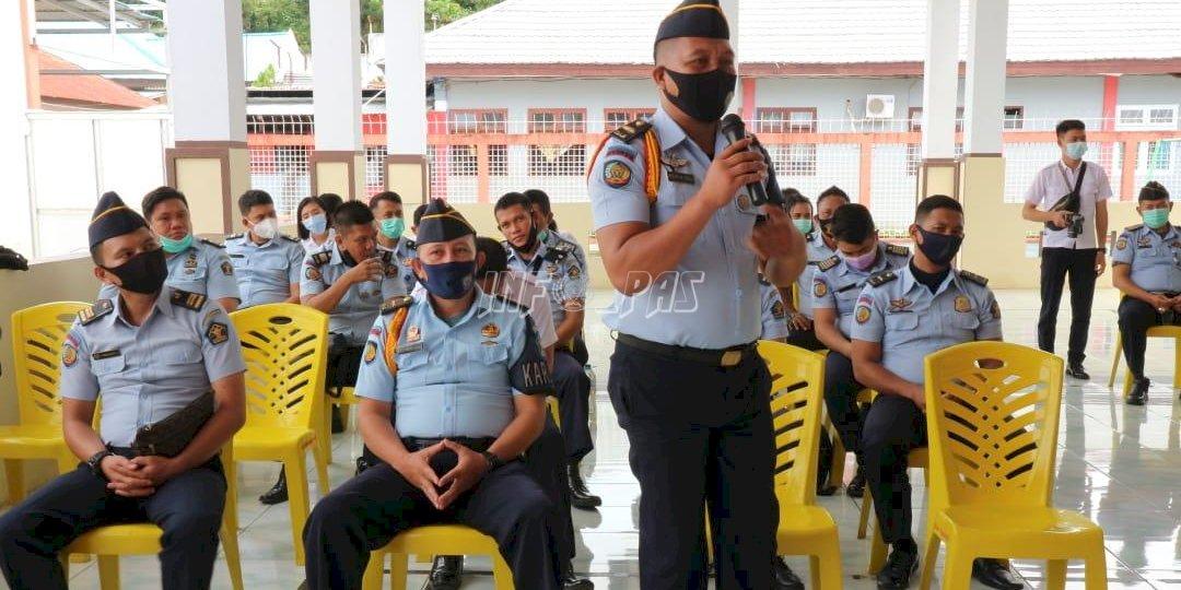 Karutan Manado Perkuat Personel Regu Pengamanan