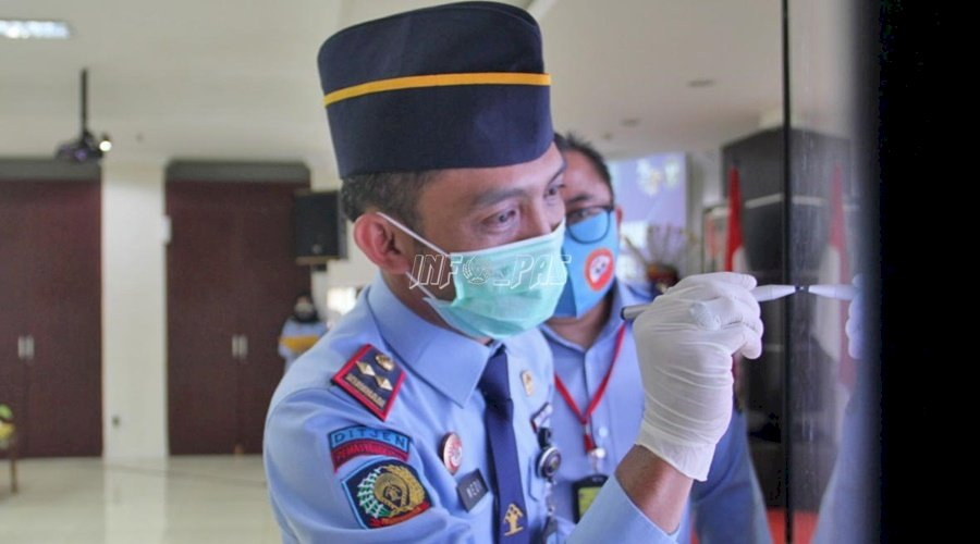 LPKA Jakarta Ikuti Janji Kinerja & Pencanangan Pembangunan ZI