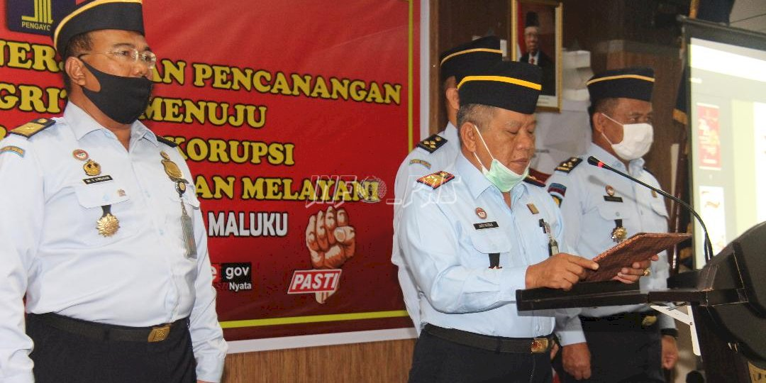 Deklarasi Janji Kinerja, Kakanwil dan Kadivpas Maluku Tekankan Pesan Ini