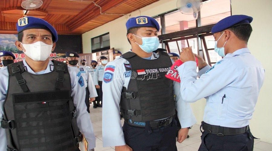 Cegah Gangguan Kamtib, Satops Patnal PAS Kalteng Dikukuhkan