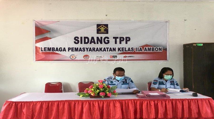 Pastikan Hak WBP Terpenuhi, Lapas Ambon Gelar Sidang TPP