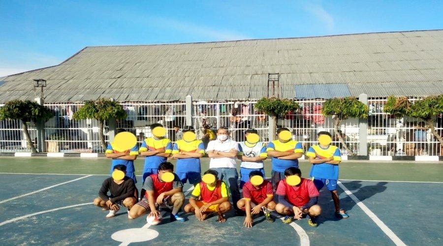Sukseskan Pembinaan, Lapas Padang Gelar Turnamen Futsal