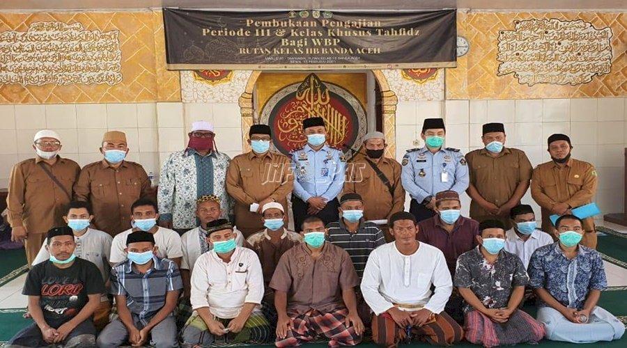 Rutan Banda Aceh Buka Kelas Tahfiz Al-Qur'an