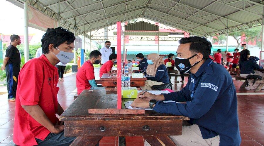 61 WBP Rutan Cipinang Ikuti Asesmen Rehabilitasi Tahap II