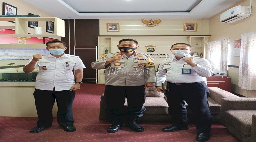 Rutan, Polres, dan Kodim Kolaka Dukung Pengendalian Gangguan Kamtib