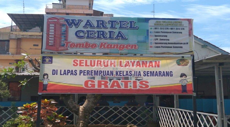 """Wartel Ceria """"Tombo Kangen"""" LPP Semarang Tetap Buka di Hari Libur"""