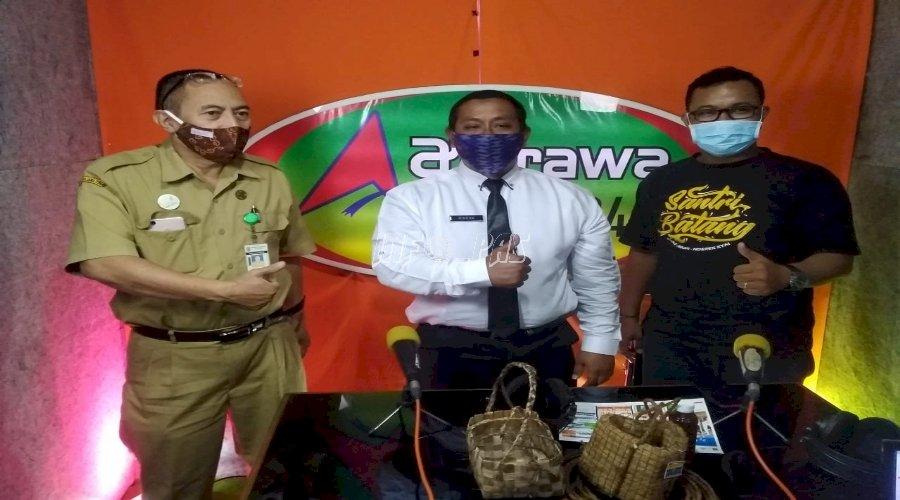 Rutan Batang Promosikan Produk WBP di Radio Abirawa FM