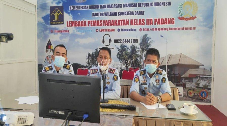 Lapas Padang Siap Dukung Kegiatan Samapta CPNS 2020