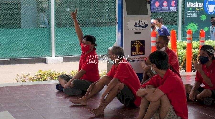 WBP Rutan Cipinang Antusias Ikuti Konseling Rehabilitasi Medis