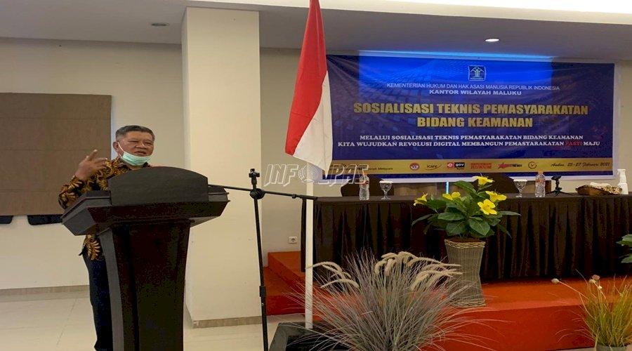 Buka Sostek PAS 2021, Kakanwil Maluku Tegaskan Pentingnya SOP