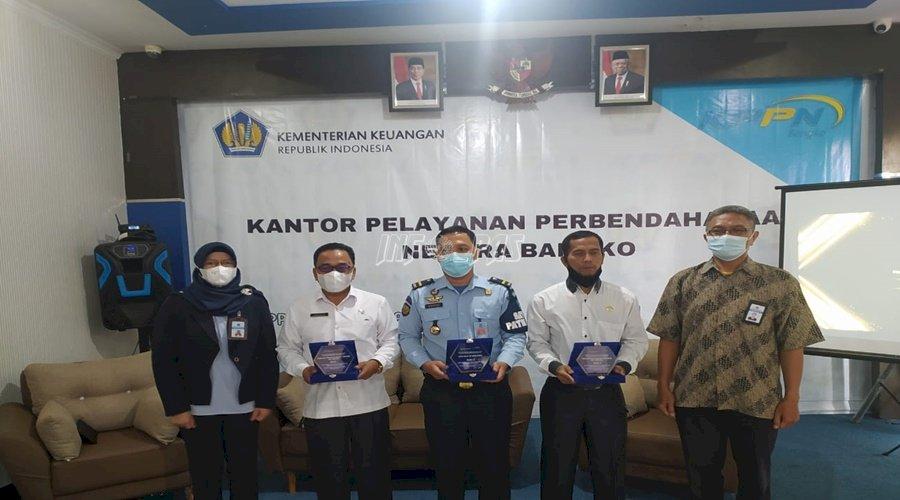Lapas Sarolangun Raih Juara II Satker Terbaik dari KPPN Bangko