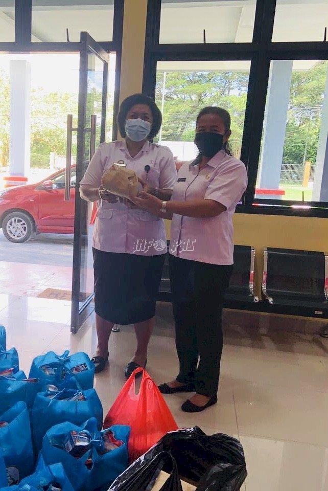 LPKA Ambon Terima Sembako & Bingkisan dari Majelis Taklim Pemprov Maluku