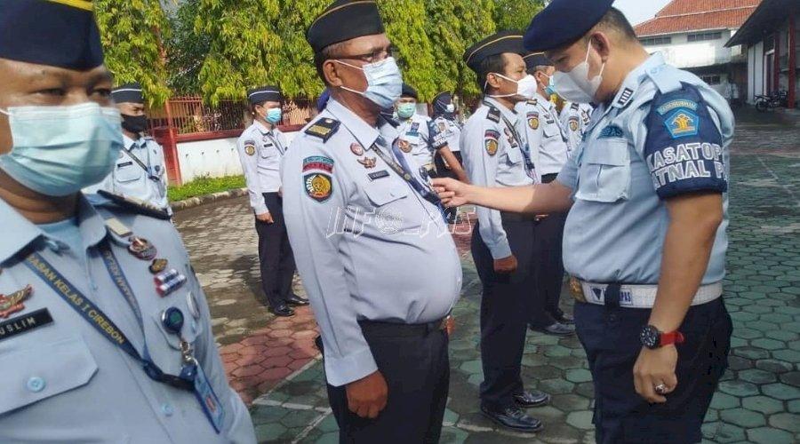 Gelar Apel Siaga, Ini Pesan Kepala Rupbasan Cirebon