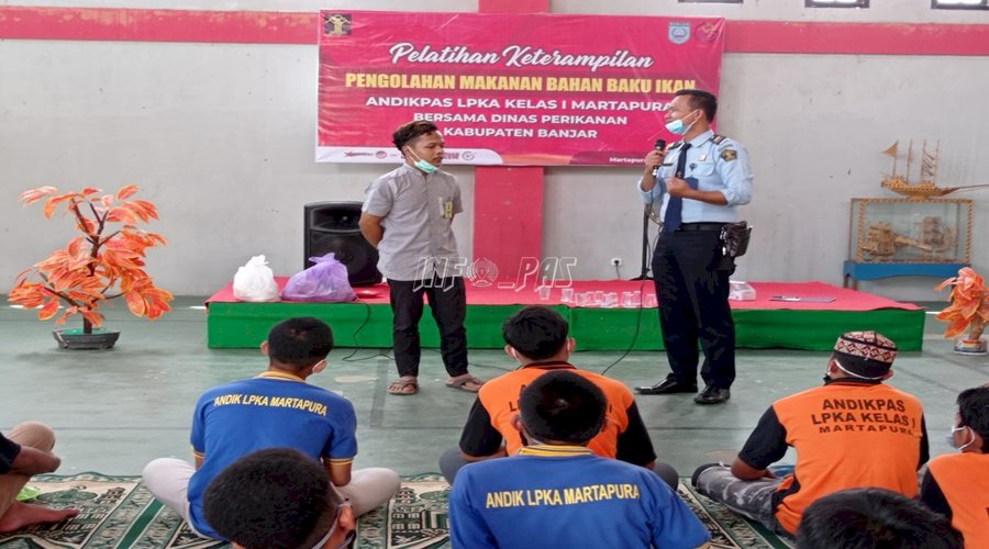 46 Anak Dapat Motivasi & Pembekalan dari Alumni LPKA Martapura