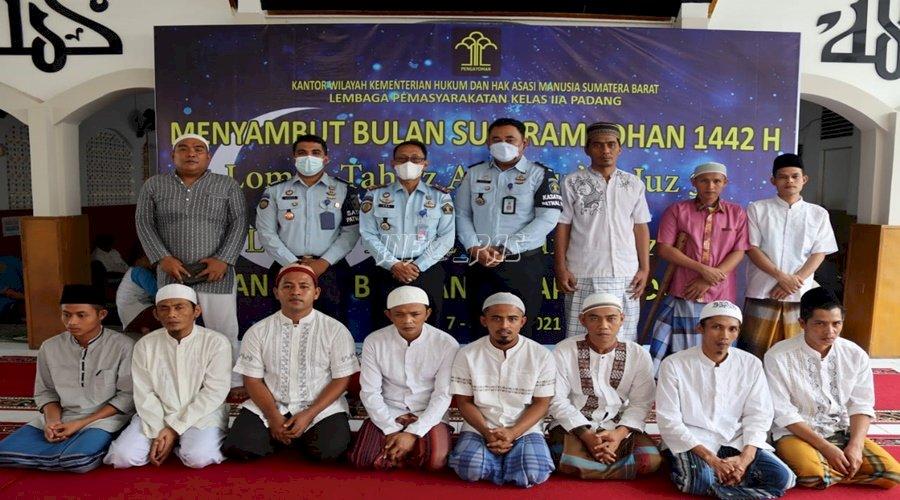 Sambut Ramadan, Lapas Padang Adakan Lomba Tahfiz Al-Qur'an