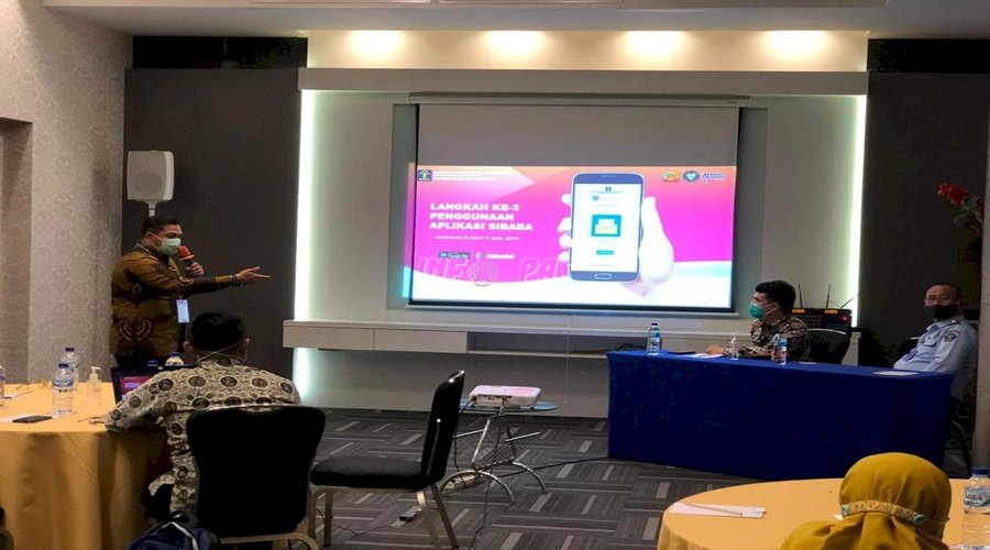 Kepala Rupbasan Bandung Presentasikan Keunggulan Aplikasi SIBABA