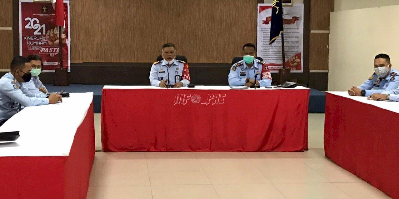 Rapat Konsolidasi Perkuat Pelaksanaan Tusi Pemasyarakatan Maluku
