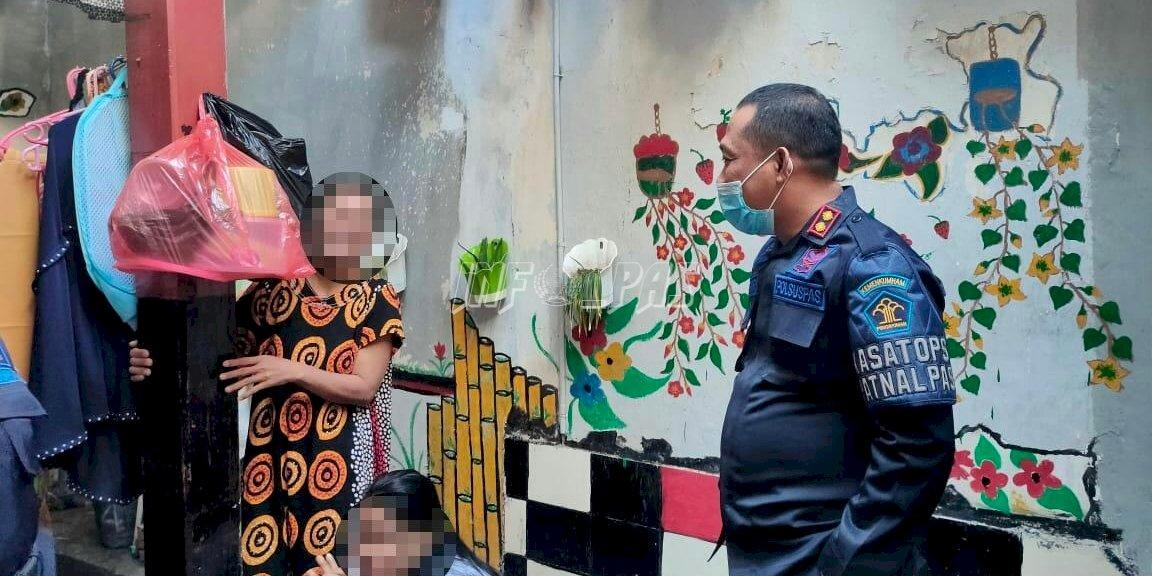 Karutan Bantaeng Beri Pengarahan di Blok Hunian Perempuan