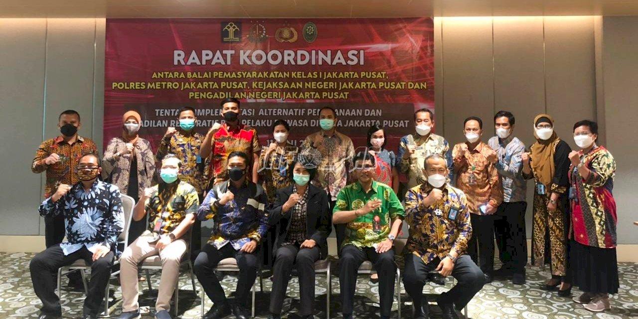 Sinergi Bapas Jakpus & APH Setempat Hasilkan Rancangan PKS Implementasi Keadilan Restoratif