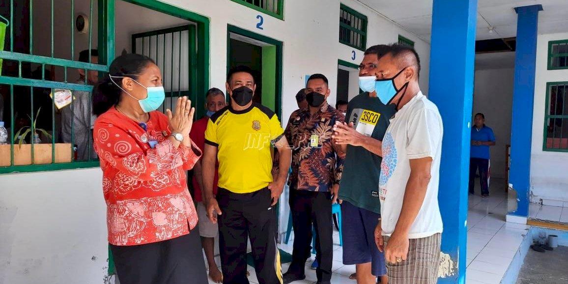 Kakanwil NTT Puji Pelayanan Publik dan Keasrian Lingkungan Lapas Kupang