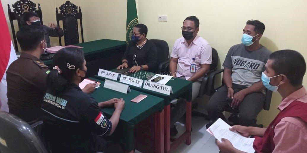 Petugas Lapas Dobo Dampingi ABH di Persidangan