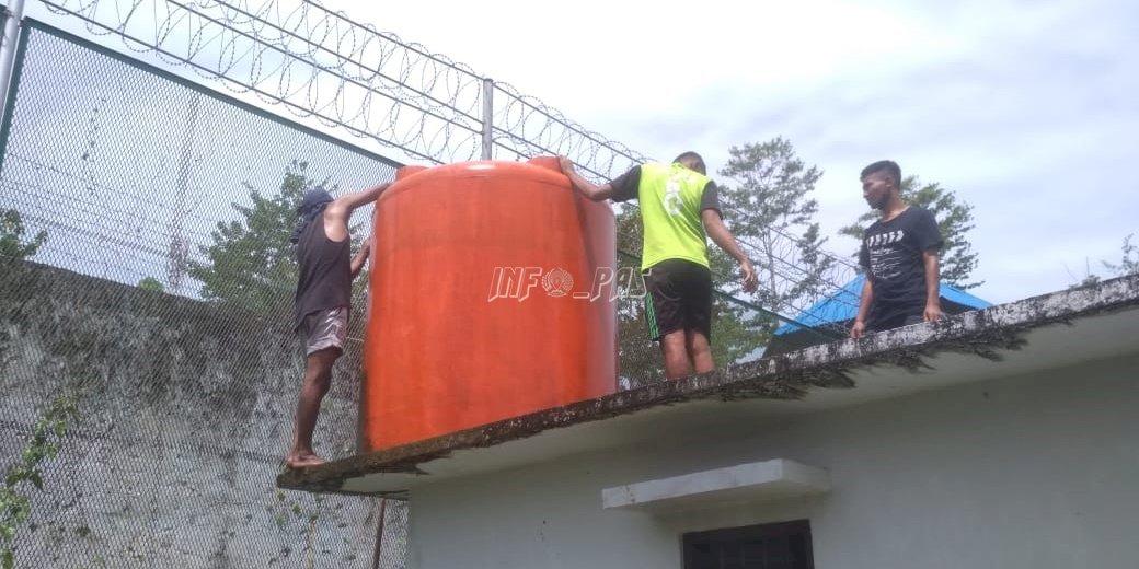 Lapas Piru Pastikan Kebersihan & Kelayakan Air untuk WBP