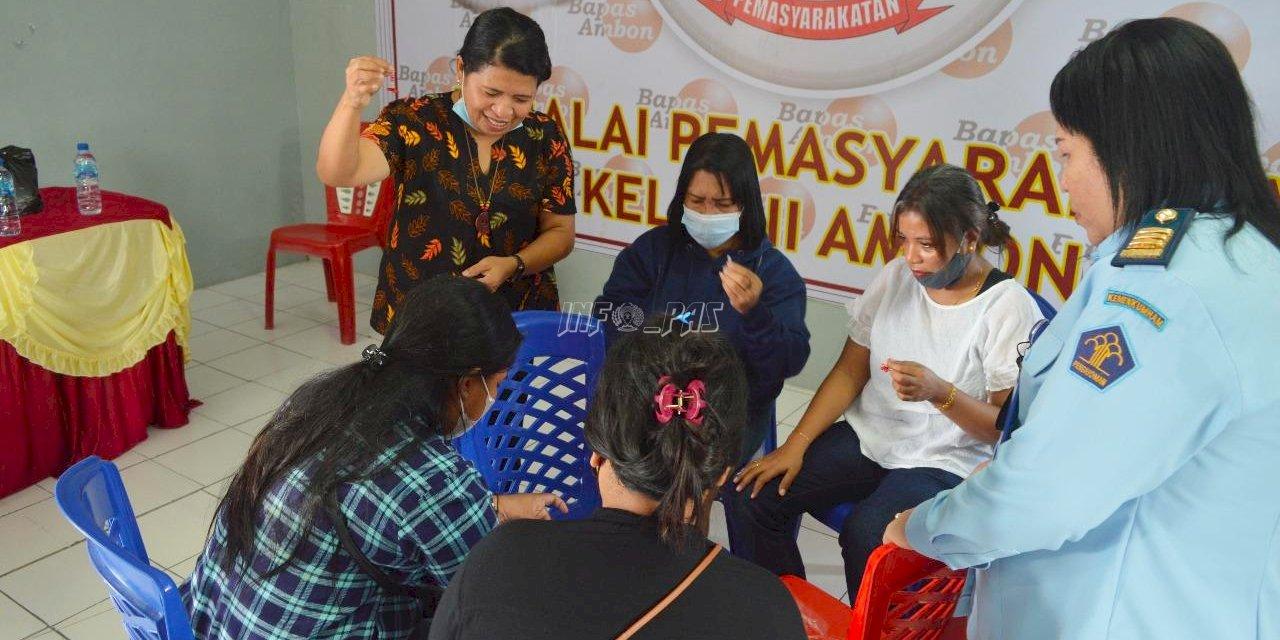 Songsong HUT Ke-76 RI, Bapas Ambon Gelar Bimbingan Kemandirian bagi Klien