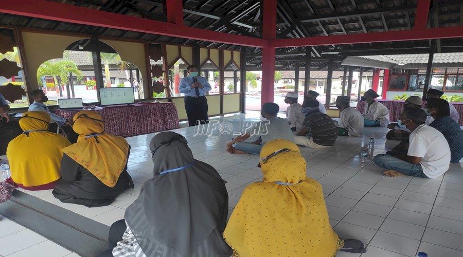 LPKA Lombok Tengah Sosialisasikan Aplikasi Si Pena
