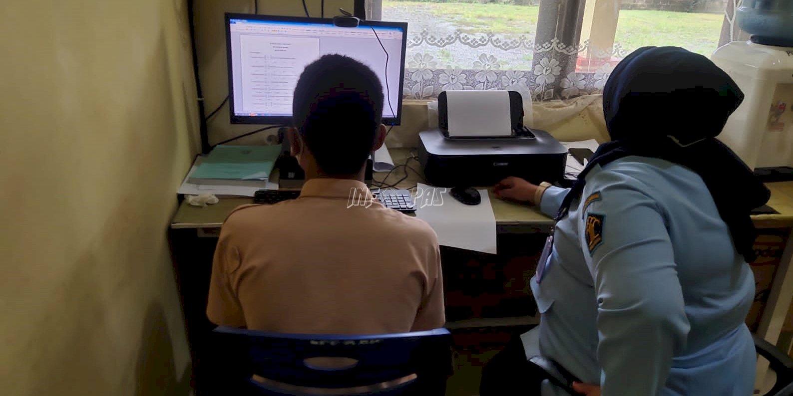 LPKA Ambon Fasilitasi Anak Ikuti Ujian Matematika