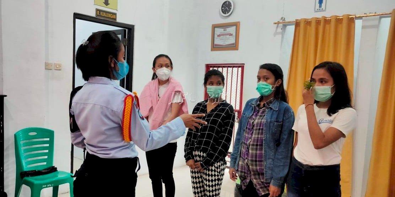 UPT Pemasyarakatan Maluku Terima Tahanan AIII Kejari
