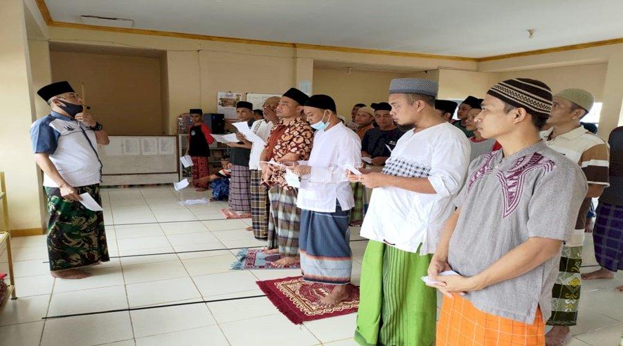 Rutan Kota Agung-Satbinmas Polres Tanggamus Sinergikan Pembinaan Kepribadian WBP